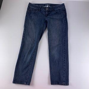 Ann Taylor LOFT 25 OP Modern Capri Jeans